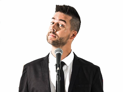 John Crist at the Fair