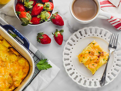Learn to Bake Breakfast Casseroles