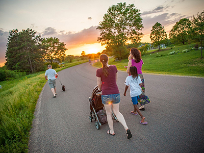 Summer Evening Family Walks