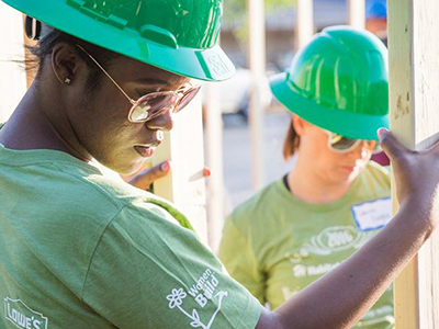 Habitat for Humanity Home Construction